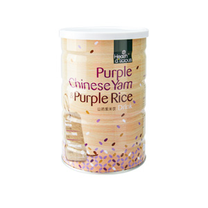Health D'licious-Purple Chinese Yam And Purple Rice Drink