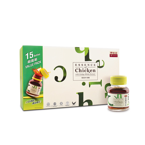 Essence Of Chicken With Ginkgo Biloba Extract 15*70gm