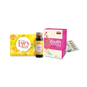 Youth Bak Foong Capsules + Eve's with Roselle