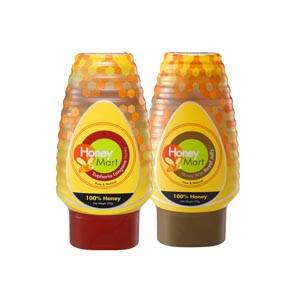 HM Honey with Royal Jelly 500gm +  HM Euphoria Longana Honey 500gm
