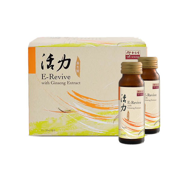 E-Revive with Ginseng Extract