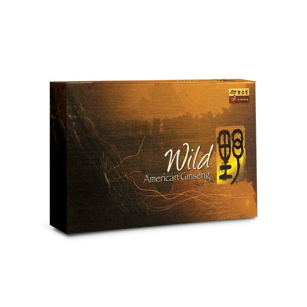 EYS Selected Wild American Ginseng Slices