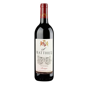 St Matthieu Red Wine