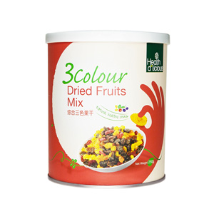 HealthD'licious 3 Colour Dried Fruits Mix