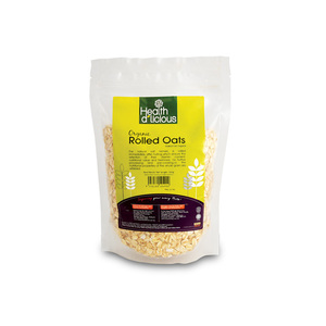 Health D'licious- Organic Rolled Oats 300g